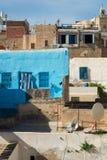 Traditionella tunisiska byggnader Fotografering för Bildbyråer