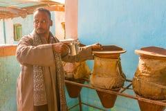 Traditionella vattenbehållare, Egypten Royaltyfri Foto
