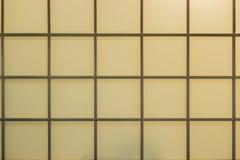Traditionella Windows som göras av papper Royaltyfria Foton