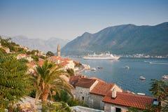 Traditionelle adriatische Landschaft Stockfoto