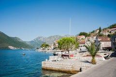 Traditionelle adriatische Landschaft Lizenzfreies Stockbild