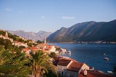 Traditionelle adriatische Landschaft Stockfotos