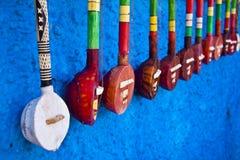 Traditionelle afrikanische Instrumente Lizenzfreies Stockfoto