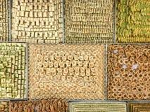Traditionelle arabische Bonbons lizenzfreies stockfoto