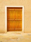 Traditionelle arabische Tür Stockfoto