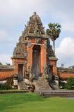 Traditionelle Architektur der Tempel von Bali stockfotografie