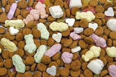Traditionelle Bonbons von den Niederlanden lizenzfreie stockfotos
