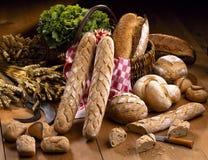 Traditionelle Brote Lizenzfreies Stockbild