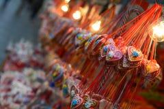 Traditionelle bunte und festliche Süßigkeiten Lizenzfreies Stockfoto