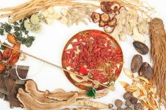 Traditionelle chinesische Medizin stockfoto