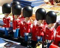 Traditionelle dänische Spielzeugsoldaten Lizenzfreie Stockfotos