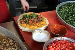 Traditionelle das Türkische cuisine lizenzfreies stockbild