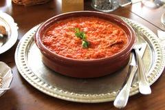 Traditionelle das Türkische cuisine stockbild
