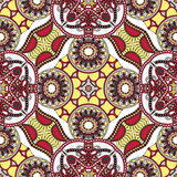 Traditionelle dekorative Blumen-Paisley-Bandanna Stockfotos