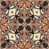 Traditionelle dekorative Blumen-Paisley-Bandanna Lizenzfreie Stockfotografie
