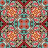 Traditionelle dekorative Blumen-Paisley-Bandanna Lizenzfreie Stockfotos