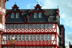 Traditionelle deutsche Architektur Lizenzfreie Stockfotos