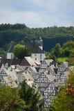 Traditionelle deutsche Häuser Lizenzfreies Stockfoto