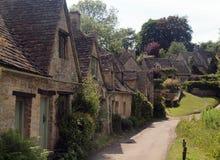Traditionelle englische Häuschen, Gloucestershire Lizenzfreie Stockfotos