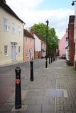 Traditionelle englische Straße Lizenzfreies Stockfoto