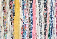 Traditionelle Farbteppichbeschaffenheit lizenzfreies stockfoto