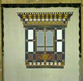 Traditionelle Fassadenmalerei Lizenzfreies Stockbild