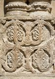 Traditionelle georgische Blumenverzierung auf Bagrati-Kathedrale, Kutaisi Lizenzfreie Stockbilder