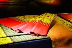 Traditionelle Gewebe Thailands Stockfotos
