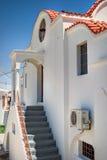 Traditionelle griechische Architektur Lizenzfreies Stockbild