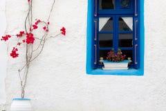 Traditionelle griechische Wand Lizenzfreie Stockbilder