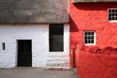 Traditionelle Häuschen Stockfoto