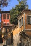 Traditionelle Häuser Stockbild