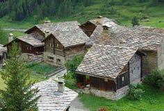 Traditionelle Häuser, Italien Lizenzfreies Stockbild