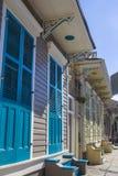 Traditionelle Häuser in New Orleans Stockbild