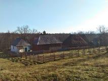 Traditionelle Häuser, Rumänien Lizenzfreie Stockbilder