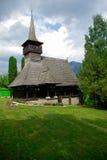 Traditionelle hölzerne Kirche von Rumänien. Stockfotos
