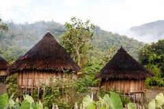 Traditionelle Hütte stockfotos