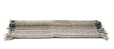 Traditionelle handgemachte Bodenwolldecke Stockfotos
