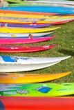 Traditionelle hawaiische Eröffnungsfeier Eddie Aikaus Lizenzfreies Stockfoto