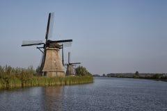 Traditionelle holländische Windmühle Lizenzfreie Stockfotografie