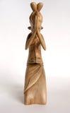 Traditionelle indische Andenkenfigürchen eines Mädchens Stockbild