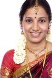Traditionelle indische Frau Lizenzfreie Stockfotografie