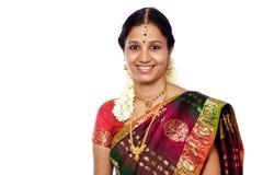 Traditionelle indische Frau Stockbilder