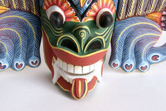 Traditionelle indonesische (Balinese) Schabloneandenken Lizenzfreie Stockfotografie