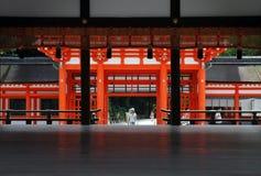 Traditionelle japanische Architektur stockbilder