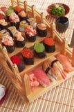 Traditionelle japanische Mahlzeit stockbild