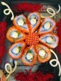 Traditionelle japanische Sushi Lizenzfreie Stockfotos