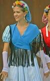 Traditionelle katalanische Tänzer Lizenzfreie Stockbilder