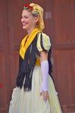 Traditionelle katalanische Tänzer Stockfoto