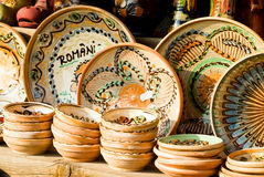 Traditionelle Keramik stockbild